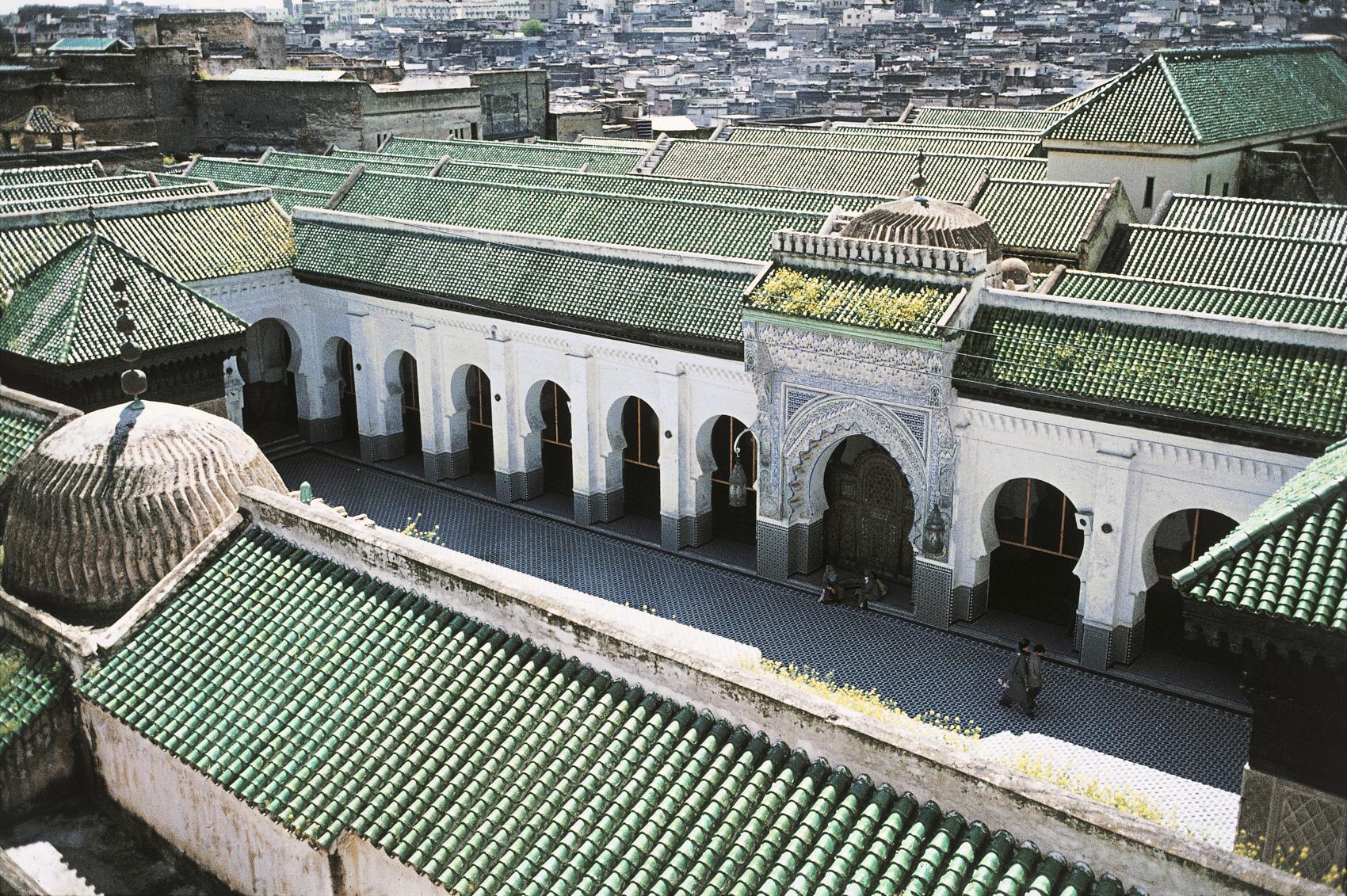 Qarawiyyin-moskeen,-Fez,-Marokko.-HMH